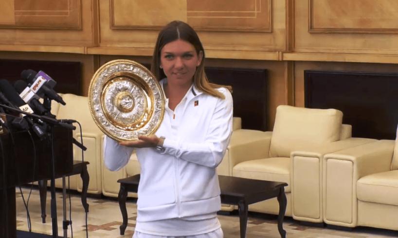 regina tenisului s a intors acasa