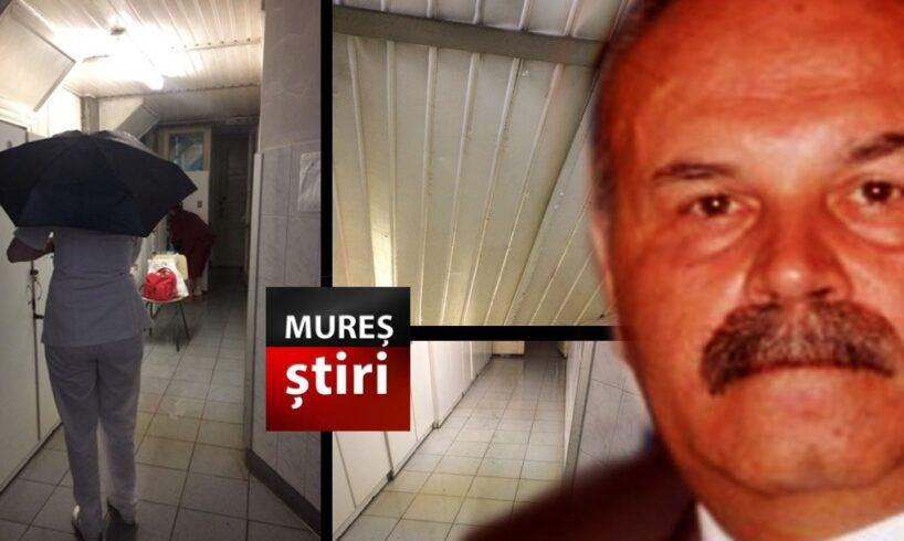 incredibil!-cadrele-medicale-folosesc-umbrele-in-interiorul-spitalului-clinic-judetean-mures!-foto