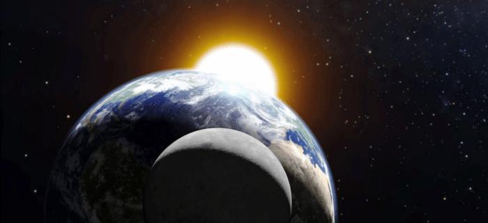 eclipsa partiala de luna vizibila si de pe teritoriul romaniei