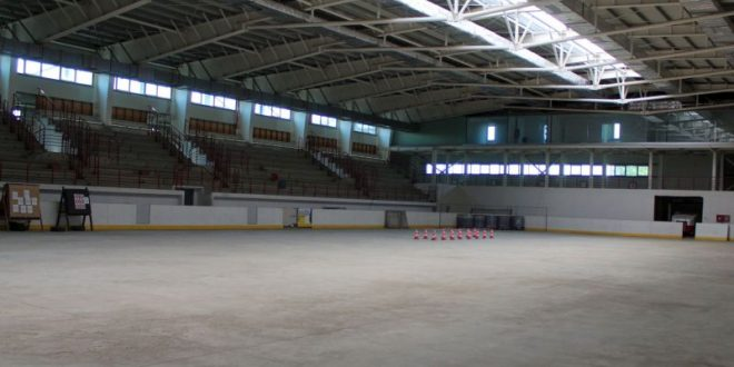 patinoarul o a doua sala sporturilor in stadiul finisajelor