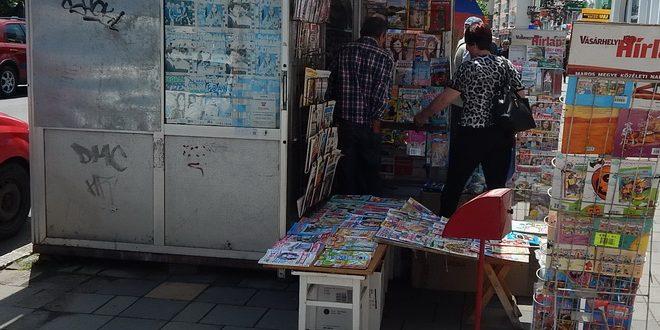 chioscurile de ziare din cartiere rase la ordin