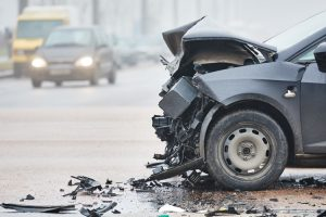 accident in chetani la intersectia cu grindeniul