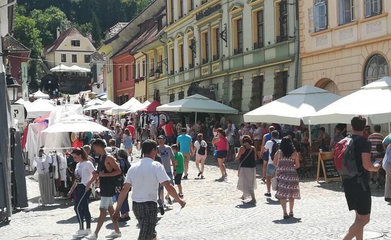 la sighisoara si a deschis portile cel mai longeviv festival medieval din romania