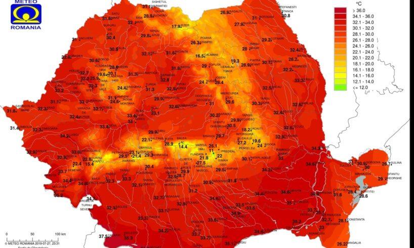 info o noua zi de arsita ce temperaturi vom avea