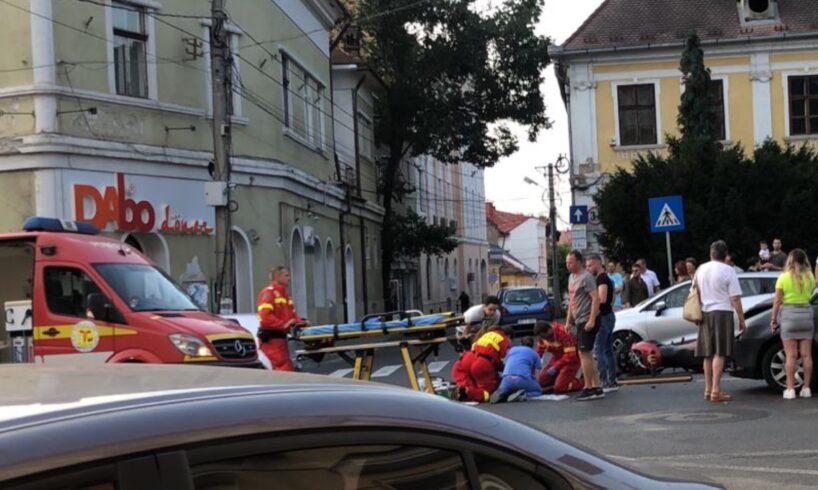 acum motociclist accidentat grav la tirgu mures