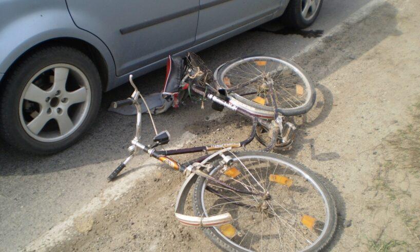 biciclistul a patruns pe contrasens