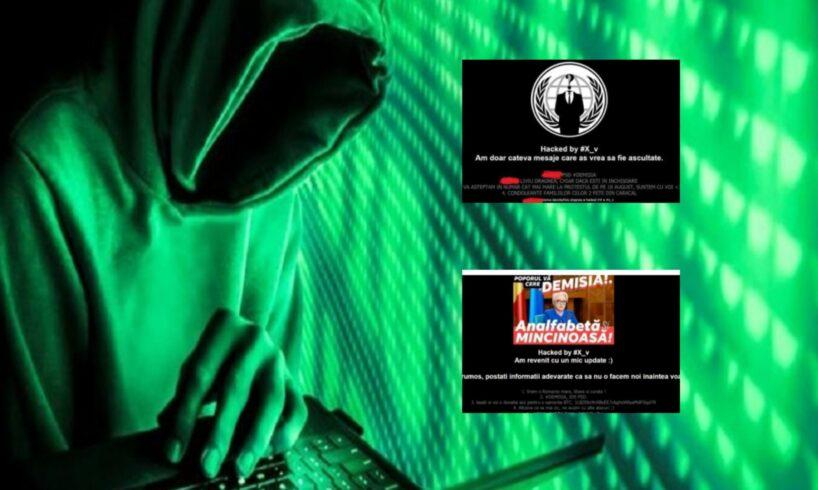 acum hackerii au spart iar siteul iml si au transmis un nou mesaj