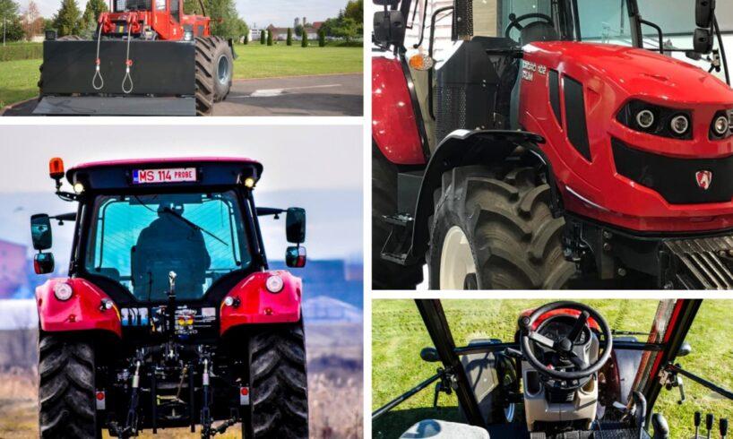 foto tractorul produs in mures ar putea fi noul duster al utilajelor agricole