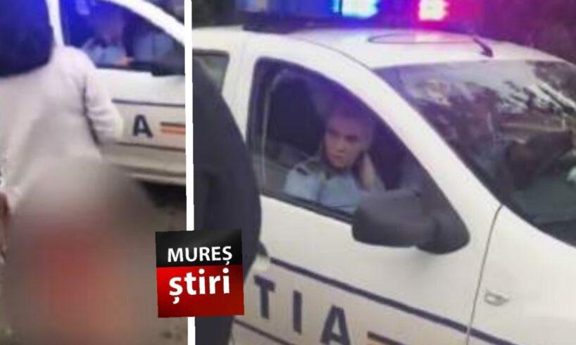 socant minora plina de sange pe strada politistii privesc din masina si atat video