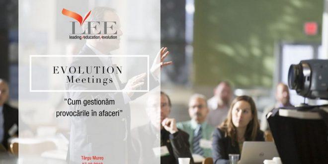 evolution meetings intalnire deschisa pentru antreprenori