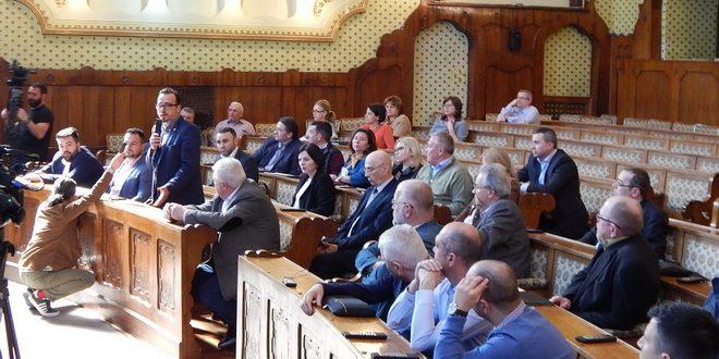 sedinta extraordinara la consiliul judetean mures