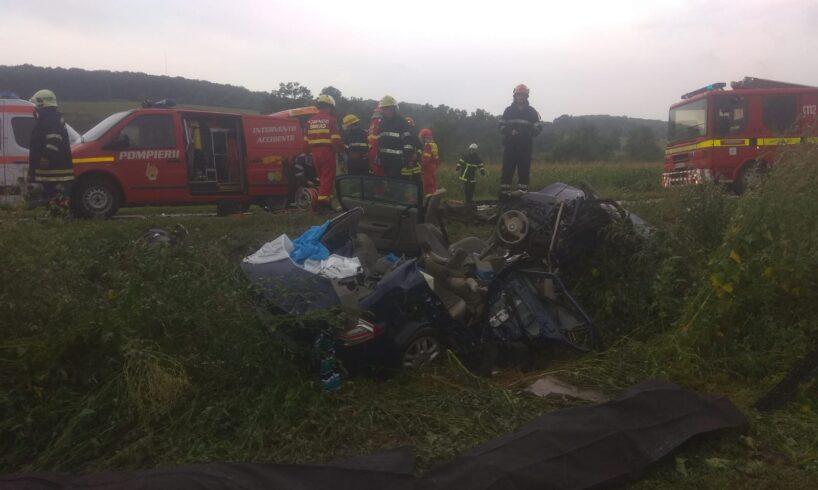 doi morti si trei raniti printre care un copil in urma accidentului de la rupea