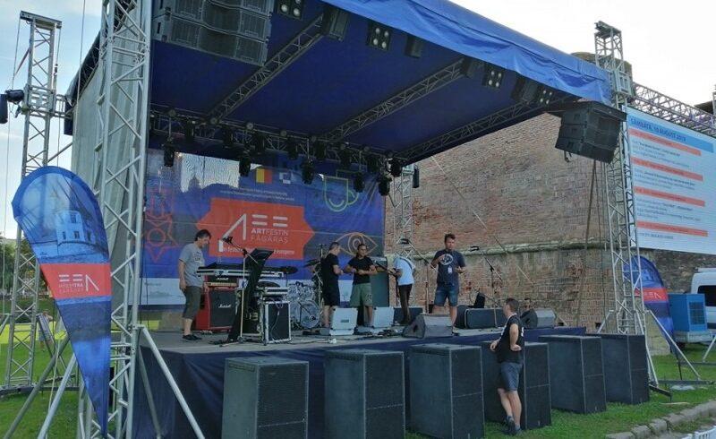la fagaras se incheie festivalul art festin