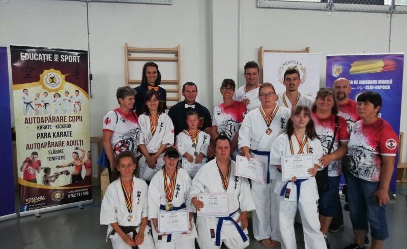 para sportivii de la tiger budo karate kyokushin la cupa internationala de para karate transilvania