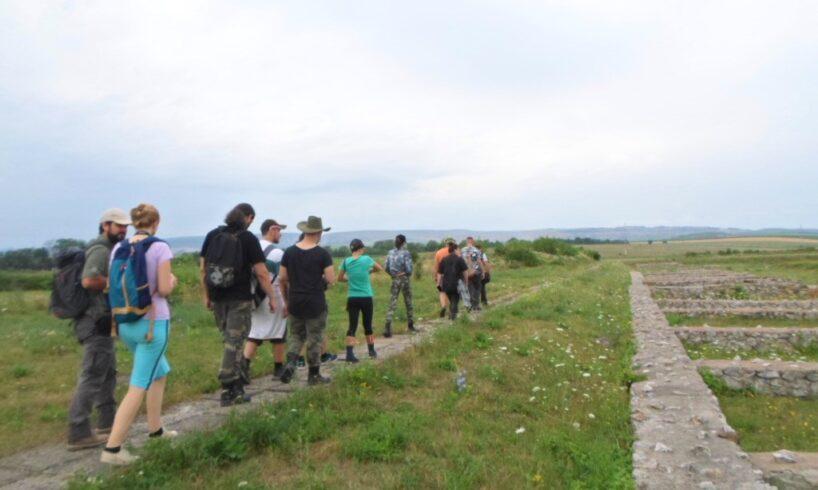 workshop de arheologie clasica romana organizat la turda de studentii mureseni