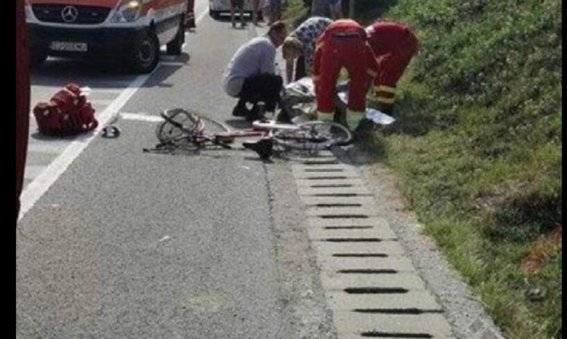 atentie biciclist accidentat grav pe dn15 e578