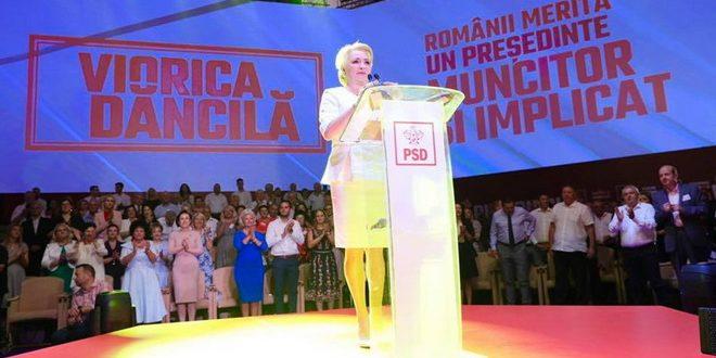 viorica dancila desemnata candidat al psd la alegerile prezidentiale