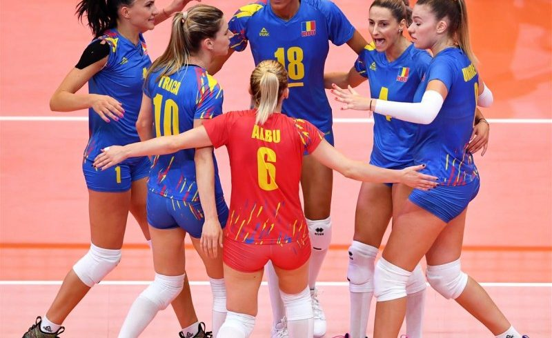 victorie cu estonia la campionatul european de volei feminin