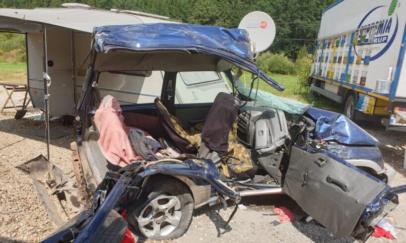 foto tragedie la stanceni trei morti intr un accident rutier