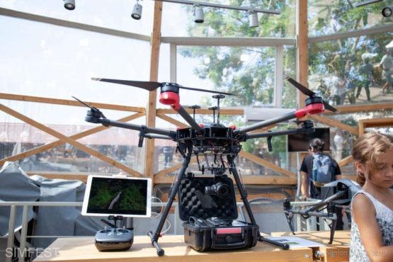 drone ultraperformante si echipamente de ultima generatie in televiziune si cinematografie la simfest