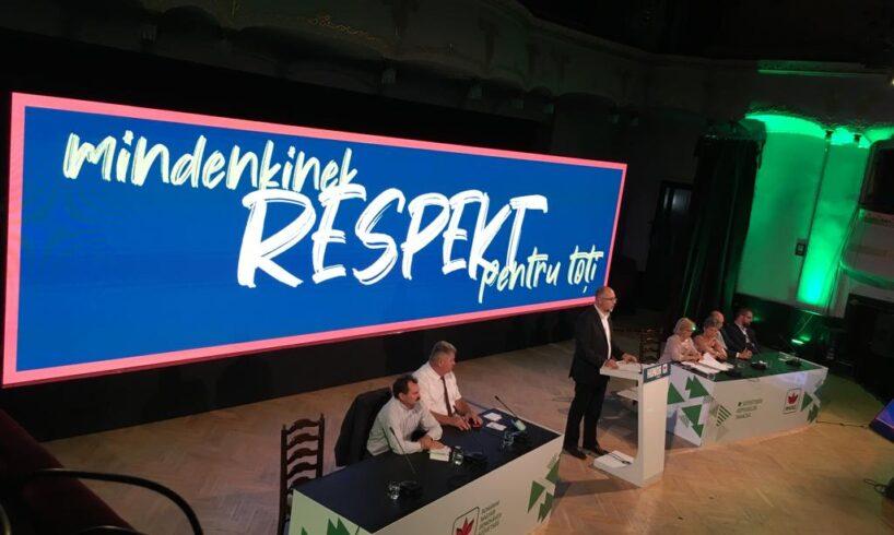 respekt sloganul lui kelemen hunor in campania pentru alegerile prezidentiale