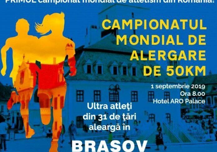la brasov se organizeaza primul campionat mondial de atletism gazduit de romania