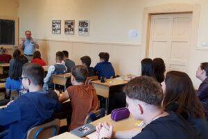 activitati cu tematica antidrog la colegiul national alexandru papiu ilarian in cadrul campaniei 10 pentru siguranta
