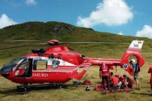 elicopter-smurd-mures,-interventie-pentru-salvarea-unui-turist-in-muntii-fagaras