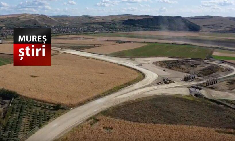 video.-cate-utilaje-lucreaza-la-nodul-chetani,-autostrada-transilvania!