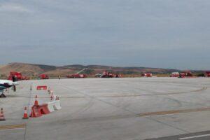 simulare de accident aviatic cu victime multiple la aeroportul transilvania tg mures