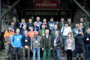 foto pregatiri pentru concursul european de silvicultura 2020 la gurghiu