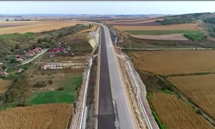 video filmare impresionanta cu autostrada a3 evolutia lucrarilor mai putin