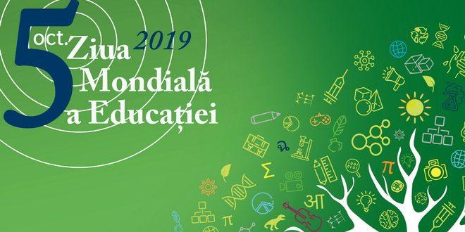 mesaj cu ocazia zilei mondiale a educatiei