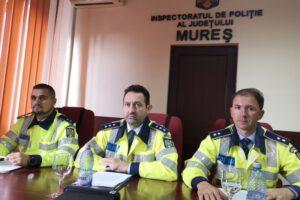 politistii mureseni pregatiti de actiunea telefonul mobil
