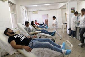 record negativ la donarea de sange in mures