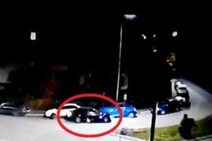 video fuga de la locul accidentului pe o strada din targu mures