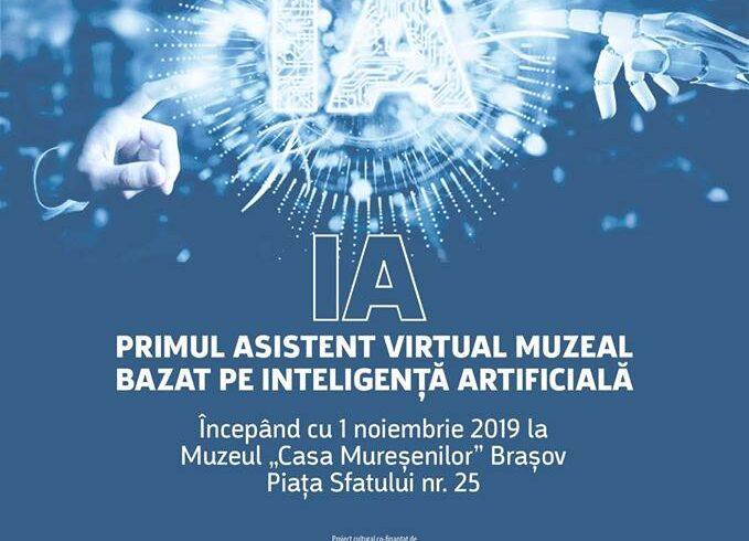 primul asistent virtual din romania bazat pe inteligenta artificiala va fi prezentat la muzeul casa muresenilor din brasov