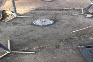 hidrantul-betonat-din-fata-sediului-pompierilor-din-tarnaveni-a-fost-scos-la-lumina!