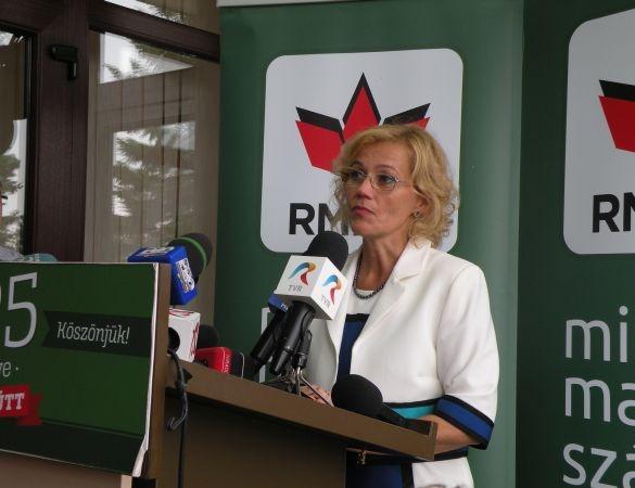 rozalia biro realeasa pentru a treia oara presedintele organizatiei de femei a udmr