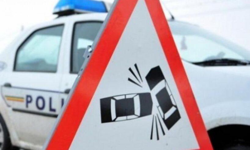 patru persoane din care doi copii ranite intr un accident rutier in sibiu