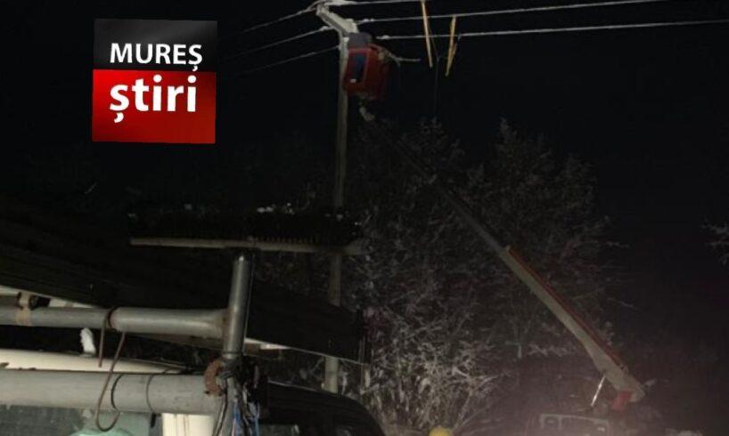acum localitati fara curent electric in urma problemelor cauzate de ninsori