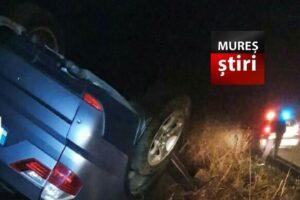 azi doi morti dupa impactul dintre o masina si o duba pe dn 15 ludus campia turzii