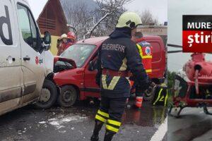 acum doua victime in urma unui impact frontal intre o masina si o duba pe dn15 e578
