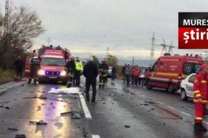 ultima ora un tanar muresean a murit intr un accident pe dn13