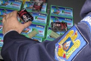 politistii mureseni au confiscat peste 300 de articole pirotehnice de la un minor