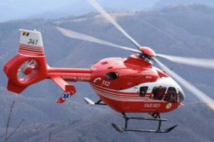 accident moto intre eremitu si ibanesti victima preluata cu elicopterul smurd