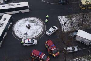 foto informatii noi despre accidentul din cartierul dambu pietros