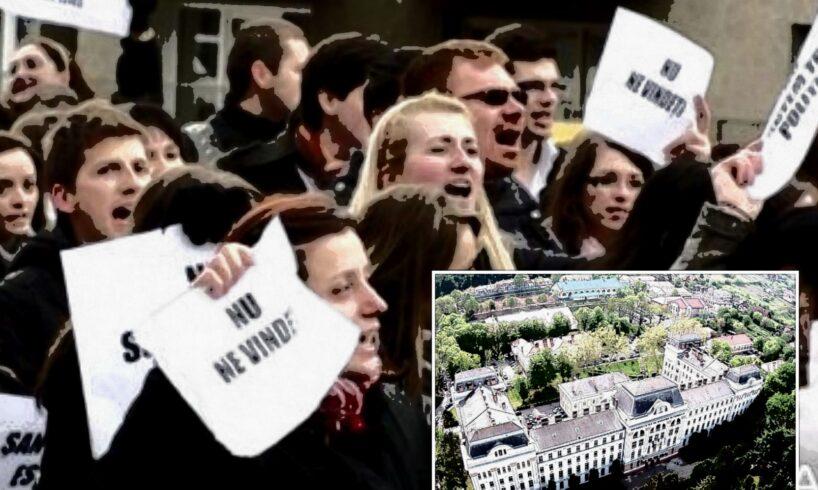 scandal la medicina zeci de profesori audiati peste o suta de studenti protesteaza