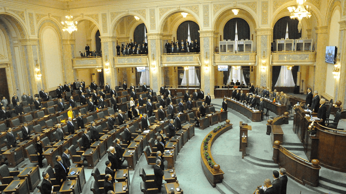 senatul convocat in sesiune extraordinara