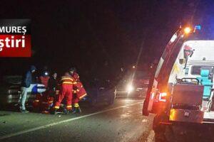 acum accident grav cu 4 masini implicate circulatie blocata pe dn14 sighisoara medias